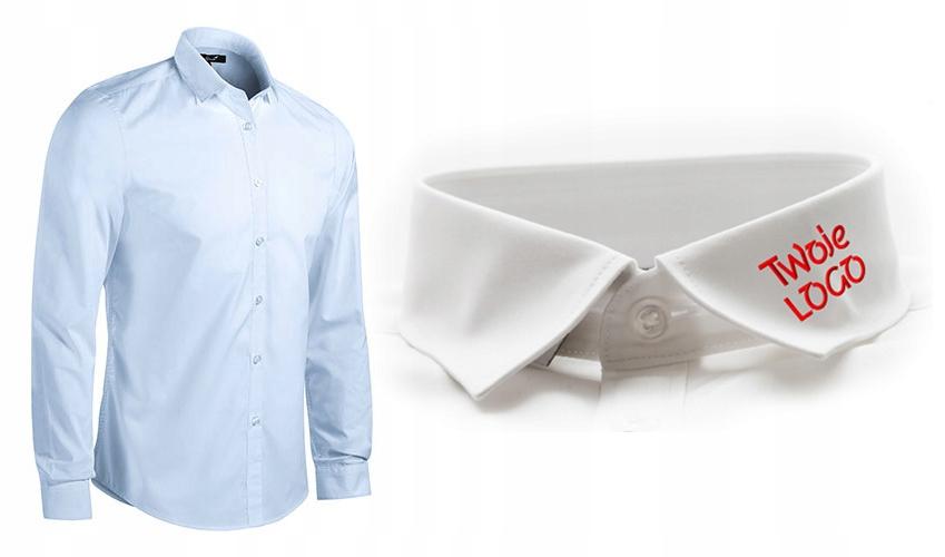 Koszula biznesowa z TWOIM logo HAFT 5 szt MIX Men 8455653653  EI7wn