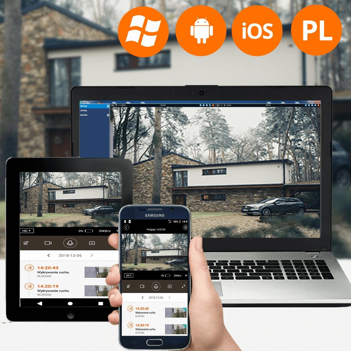 Kamera HD GSM SIM +Power Bank LG 3G 4G LTE ORLLO Technologia IP
