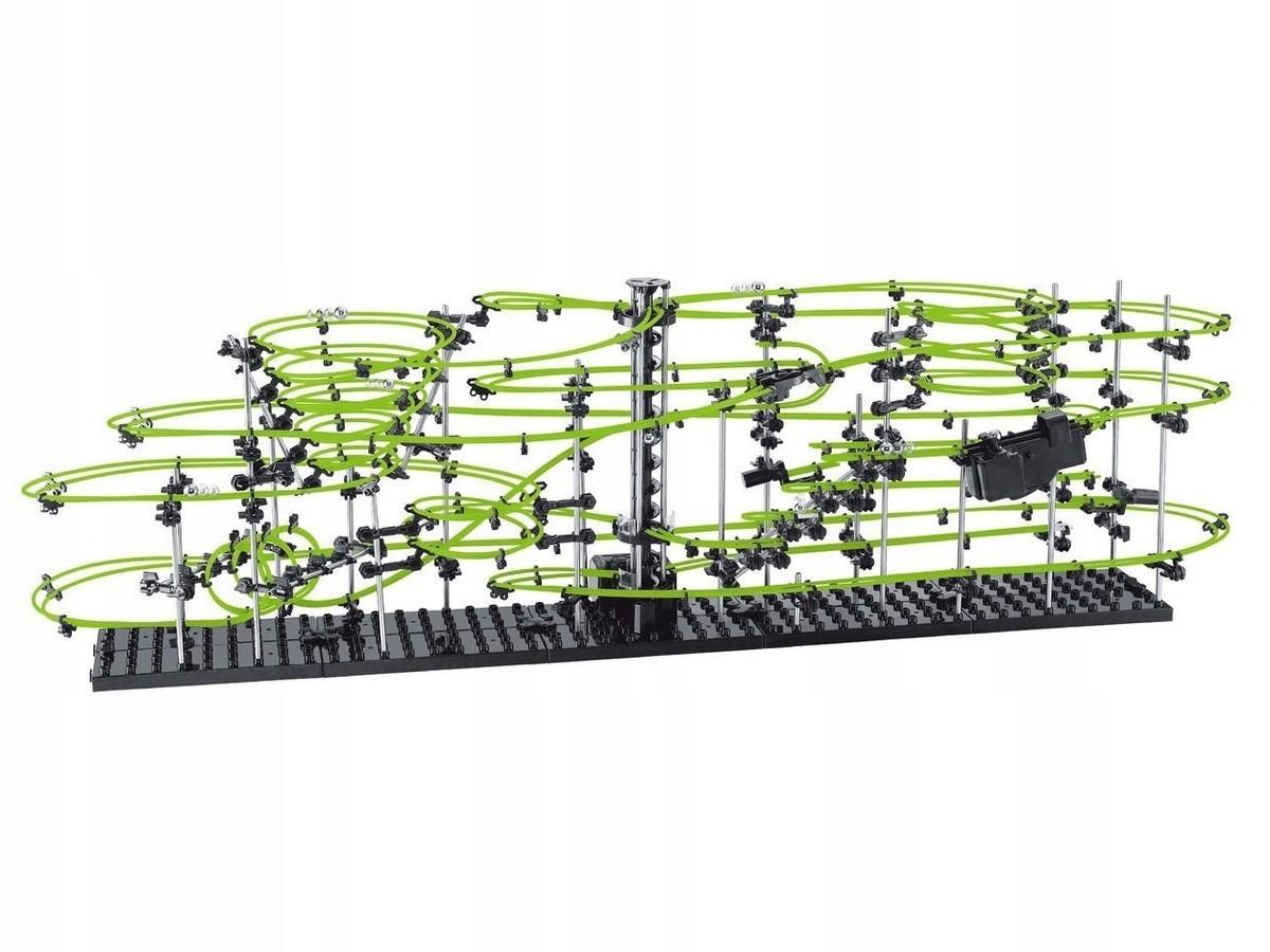 SpaceRail Ball track pre žiariace gule úrovne 5G