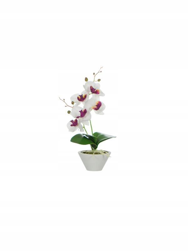 Umelý kvet Orchidea strorczyk 32.5 cm