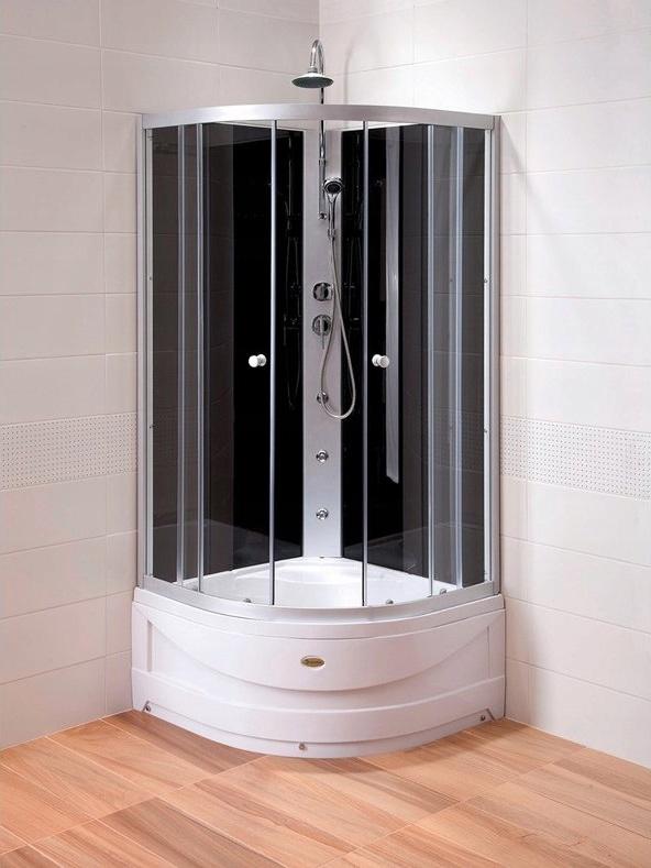 Sprchovací kút S HYDROMASÁŽOU 90x90x235