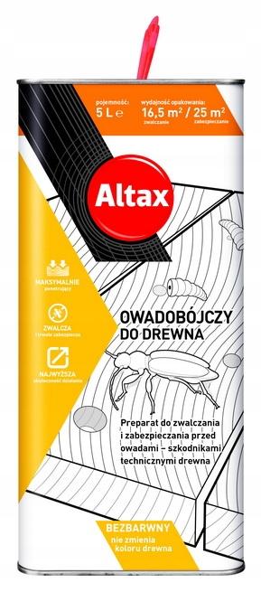 ALTAX HYLOTOX - PREPARAT OWADOBÓJCZY DO DREWNA 5L