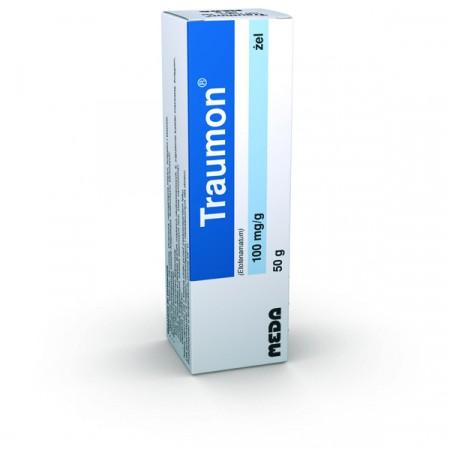 Купить Traumon Gel 10% Этофенемат от боли / воспаления 50 г на Otpravka - цены и фото - доставка из Польши и стран Европы в Украину.