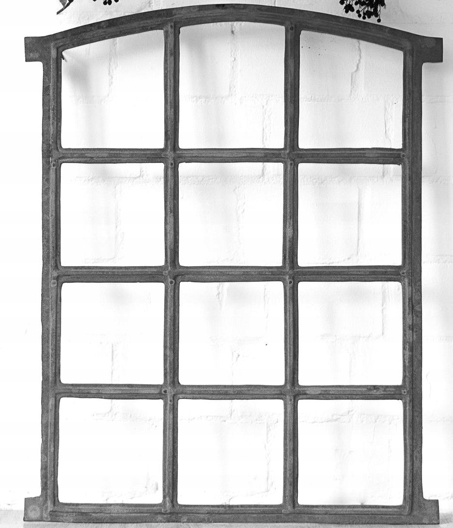 NOVÉ okno liatiny retro 56x78,5cm