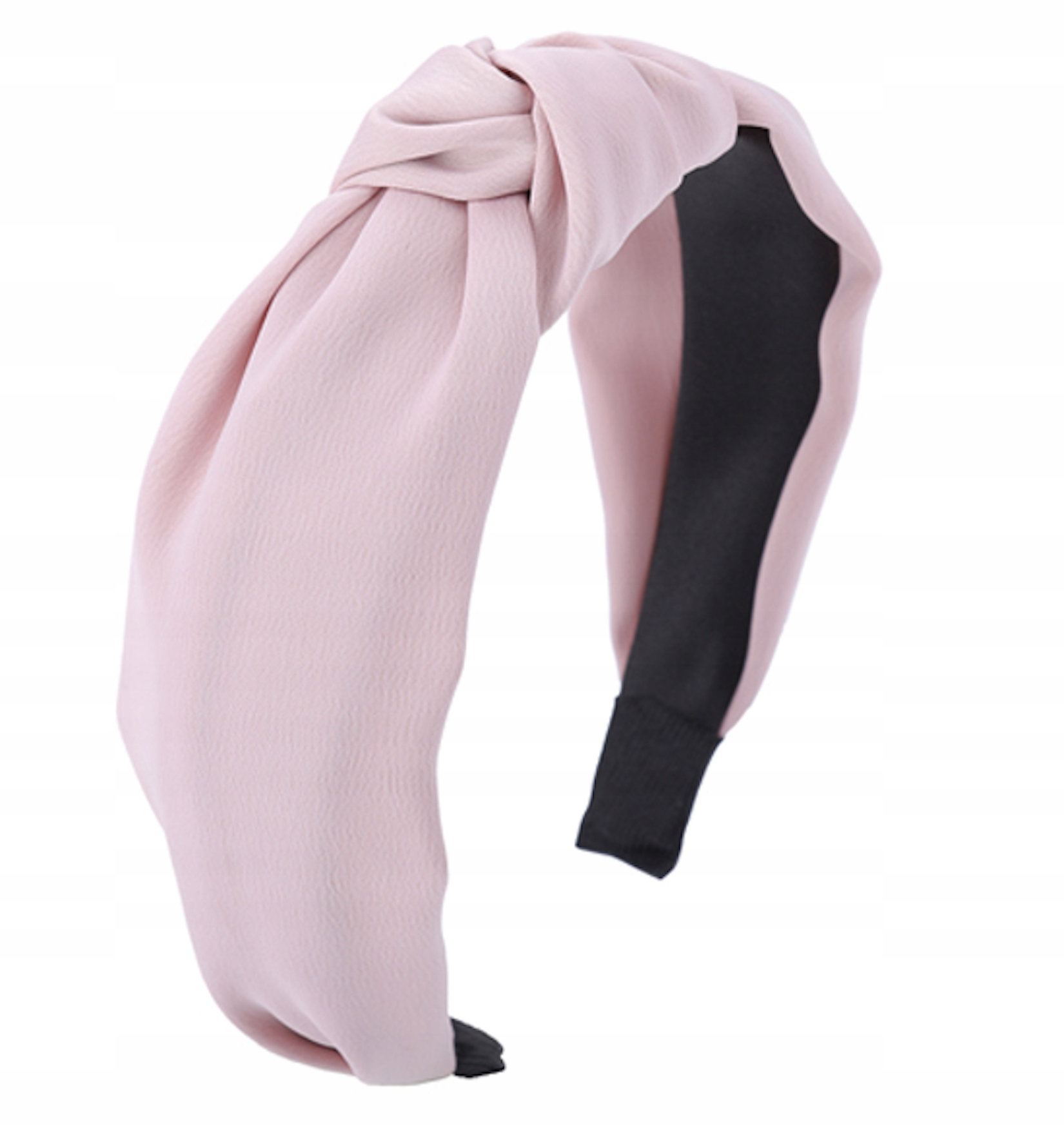 Item Headband hair powdery rose pink knot