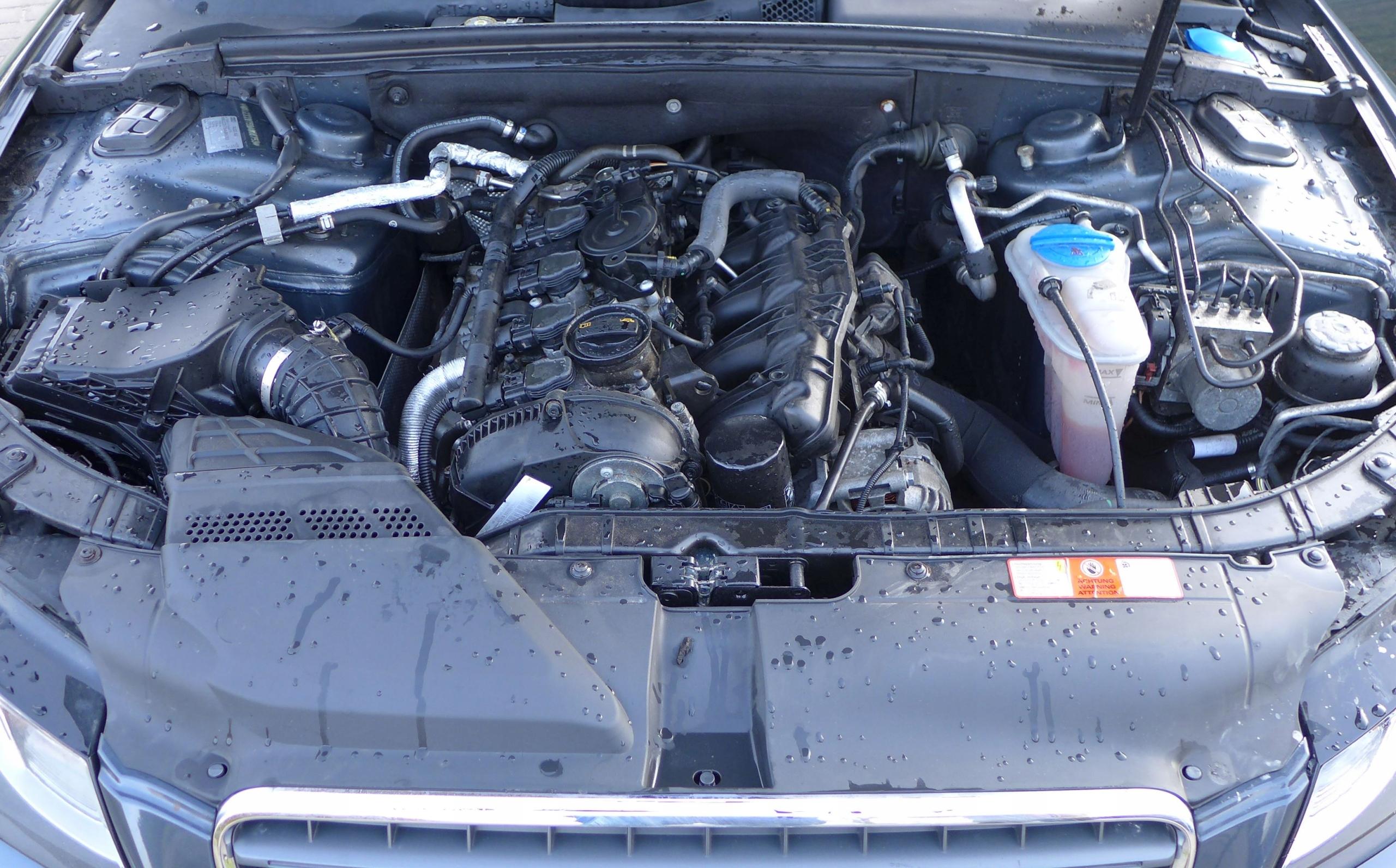 двигатель audi a5 8t 18 tfsi cab cabd 170km w машине