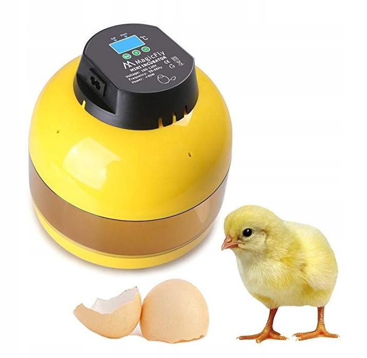 Полуавтоматический инкубатор яиц 10 яиц