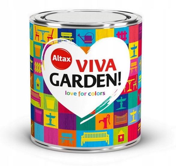 ALTAX VIVA GARDEN 0.75L ВСЕ ЦВЕТА - краска!
