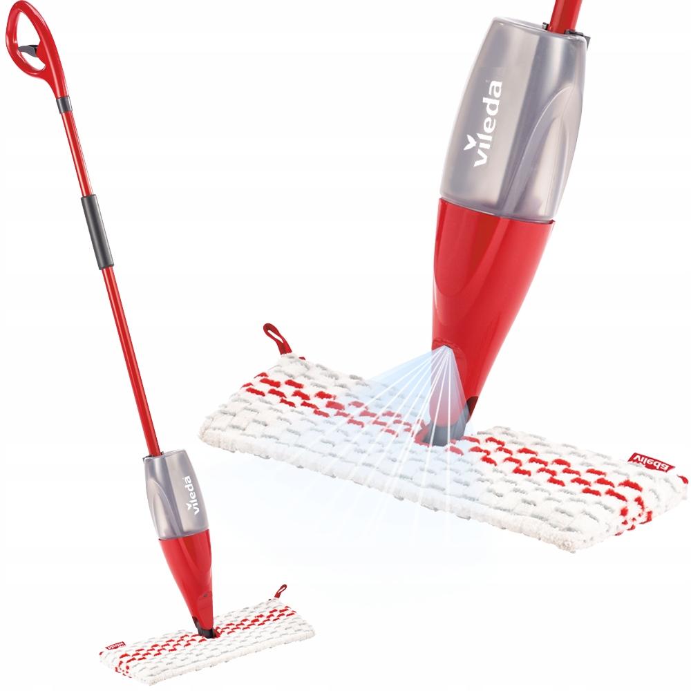 VILEDA mop 1-2 Spray MAX с распылителем
