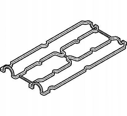 прокладка крышки клапанов opel astra g 14 16