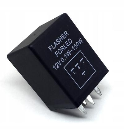универсальный прерыватель указателей поворота led 12v 4p