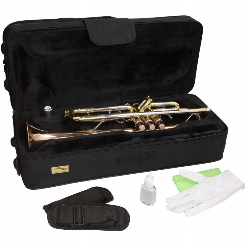 Item Trumpet outfit B Bp Solist-2 M-tunes Golden SET