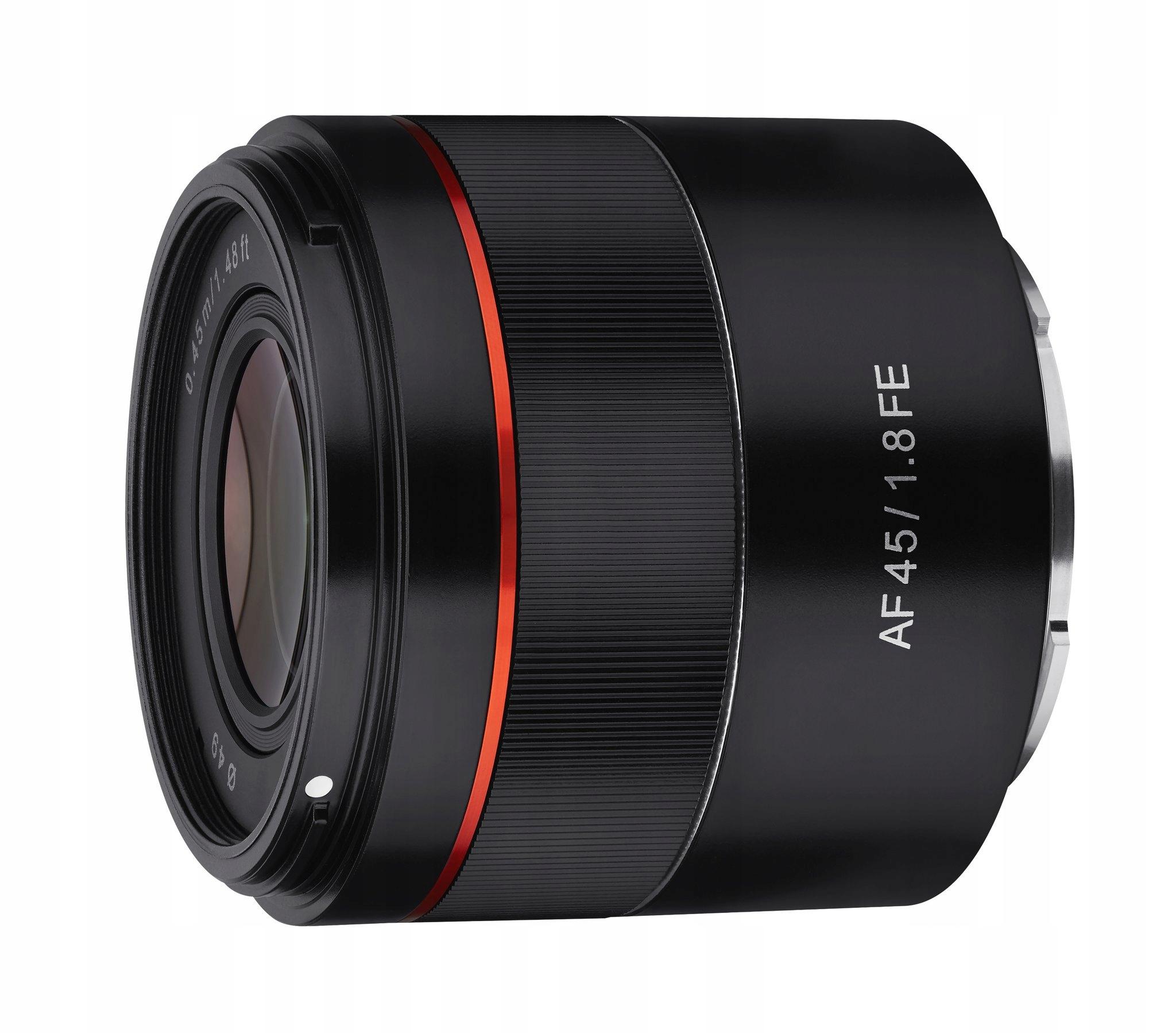 Item The company samyang AF 45mm F1.8 FE Sony E-mount FOTORIMEX