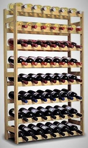 Item Rack the wine RW-56 rack shelf wooden gift