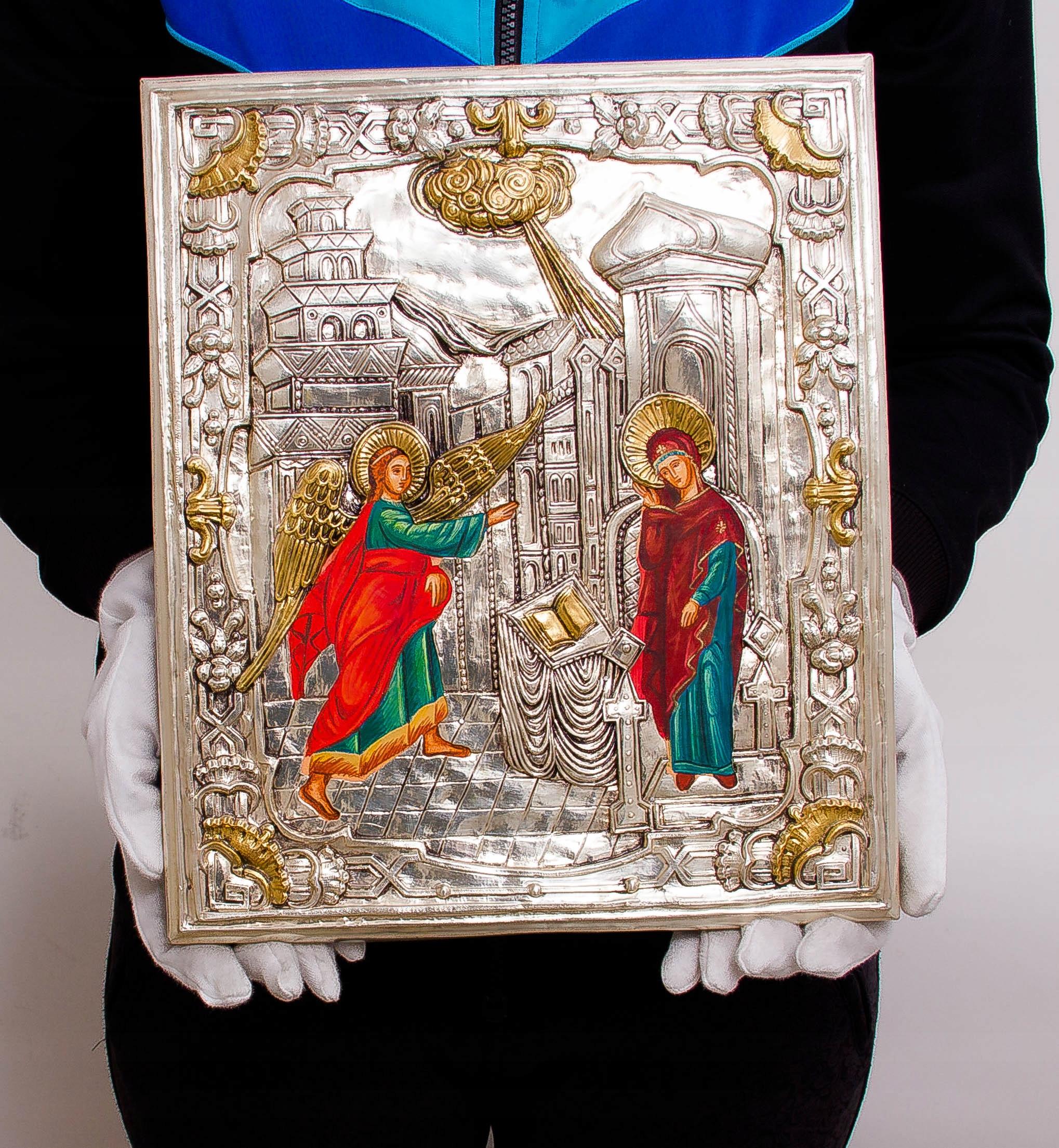 Ikona Zwiastowania Najświętszej Marii Panny Oryginalność Oryginalne