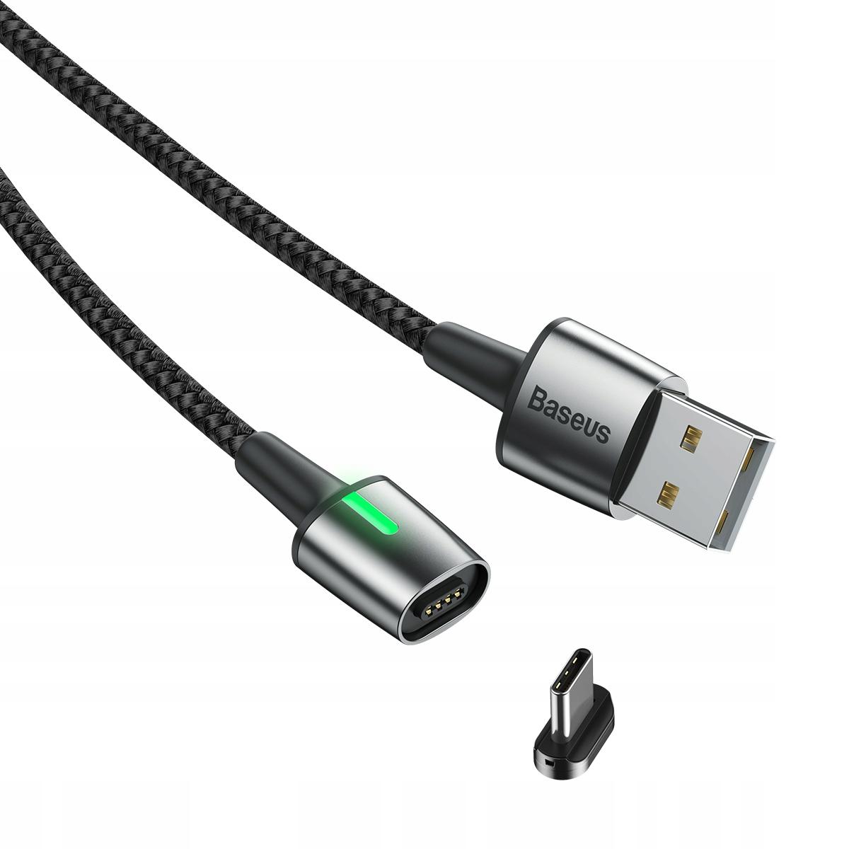 Baseus szybki kabel magnetyczny Usb Type-C 2A