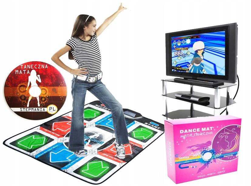 STEPMANIA PL DANCE MAT PRE DANCE PC TV