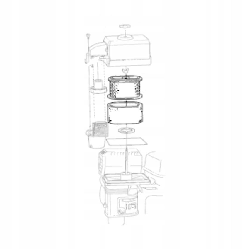 Воздушный фильтр GX160 GX120 GX200 HONDA Замена