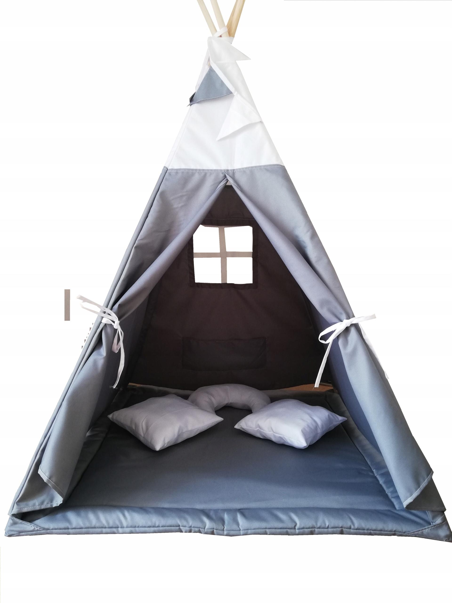 Namiot Tipi Dla Dzieci Wigwam Domek Premium 4baby 7820008252 Allegro Pl