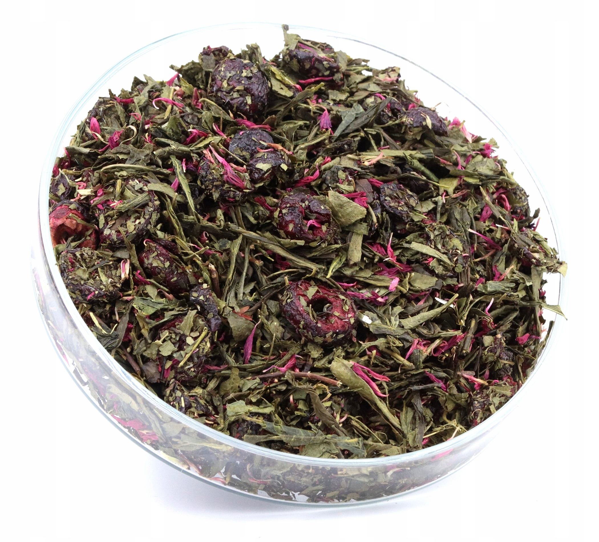 зеленый чай ЦВЕТЕНИЕ Вишня хороший чай сенча 50 г