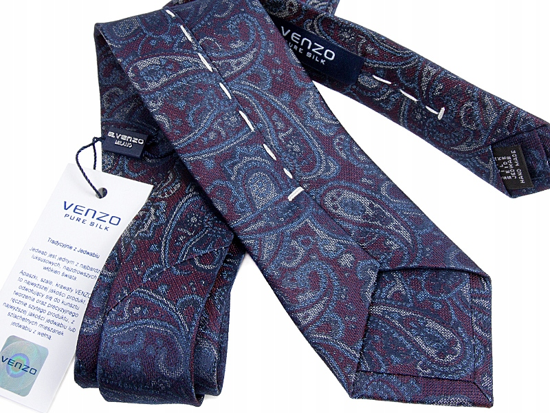 Купить Шелковые галстуки - Эксклюзивный Галстук Venzo B593 на Otpravka - цены и фото - доставка из Польши и стран Европы в Украину.