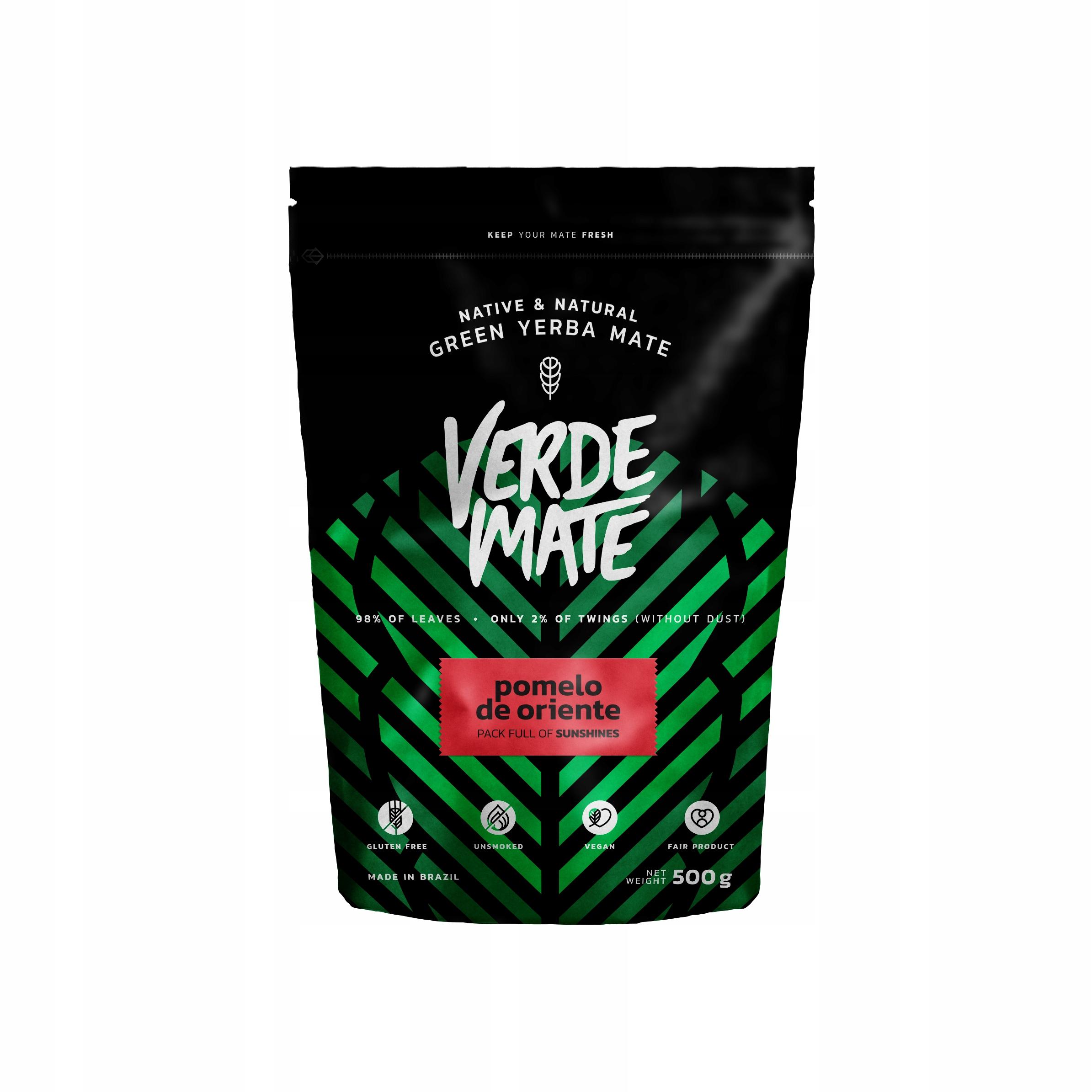 Yerba Verde Mate Green Pomelo De Oriente 0,5kg