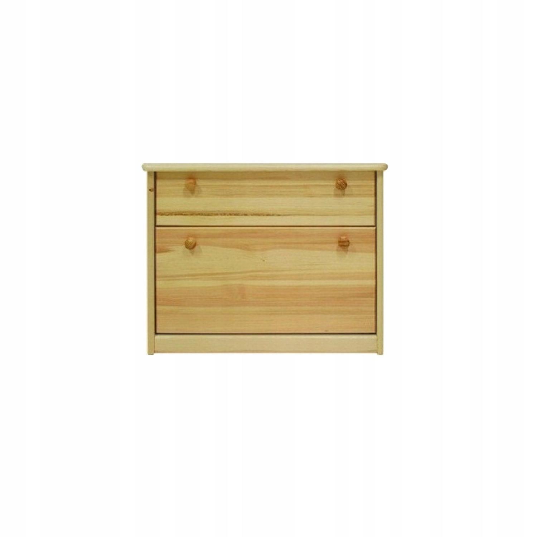 +Botníku lakovaného borovicového dreva+