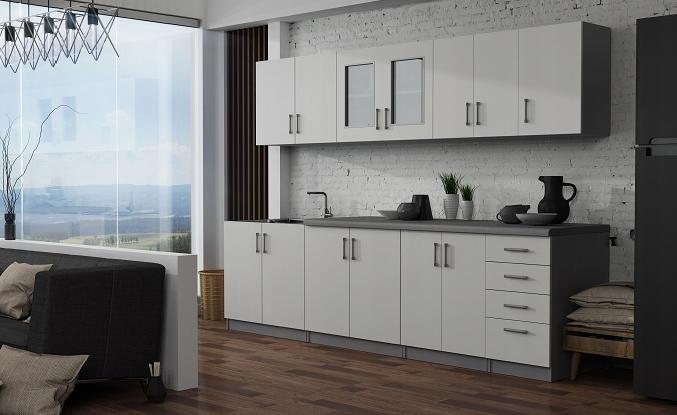 Мебель для кухни / Шкафы / На заказ / В сложенном виде / Столешница