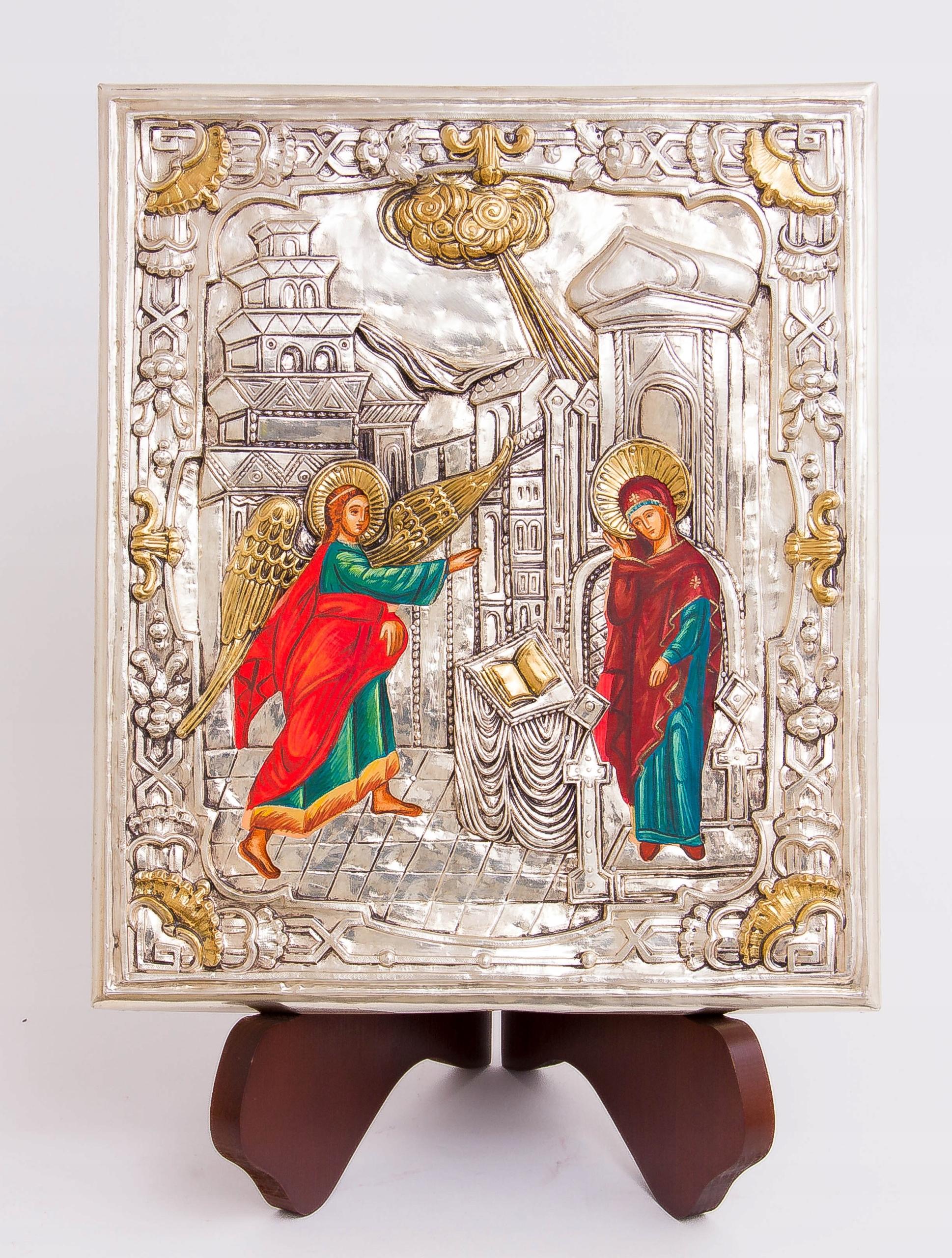 Ikona Zwiastowania Najświętszej Marii Panny Rama bez ramy