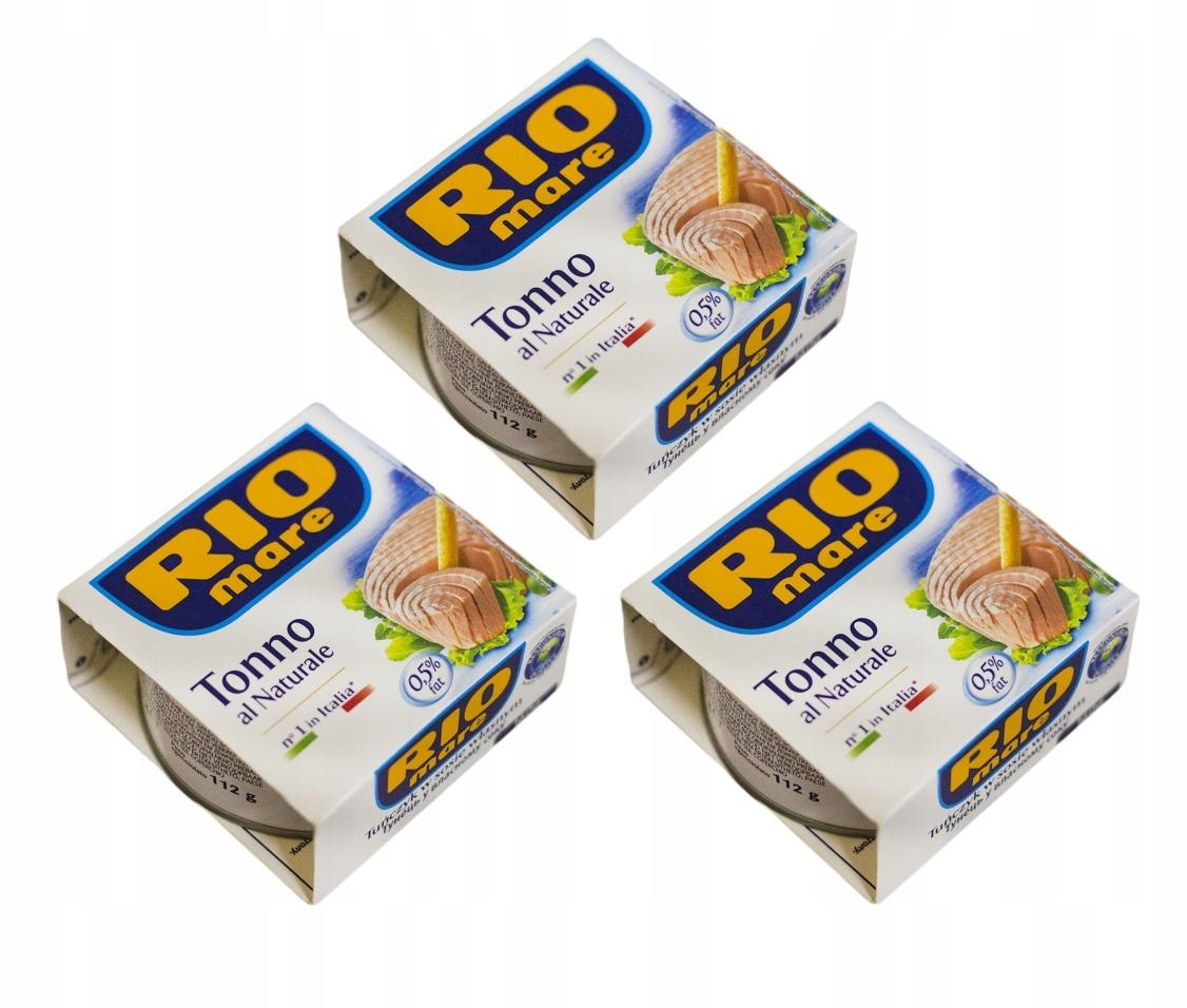 Тунец в собственном соусе RIO MARE 160 г x 3 штуки