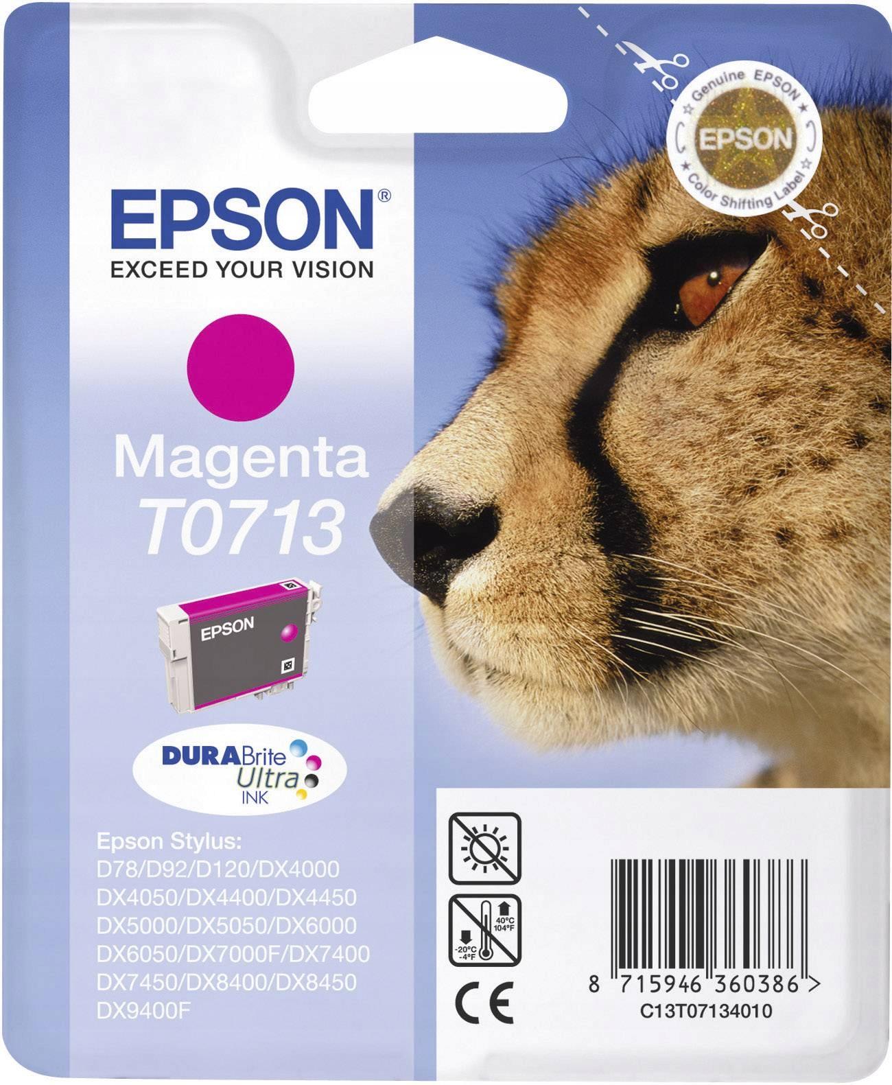 Купить Чернила Epson T071340 красный Оригинал после срока на Otpravka - цены и фото - доставка из Польши и стран Европы в Украину.