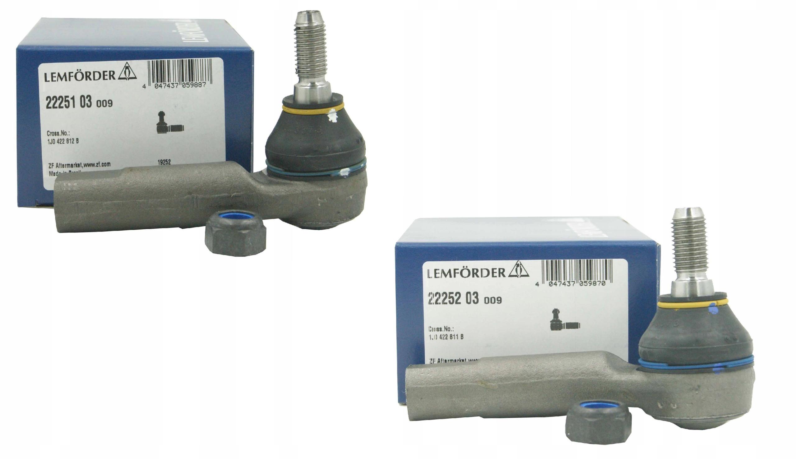 2 x lemforder наконечники поперечной к audi a3 8l компл