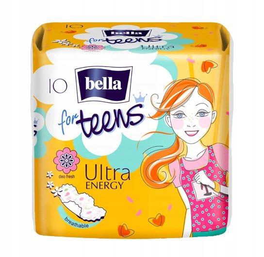 Podpaski Bella for Teens Ultra Energy 10 szt