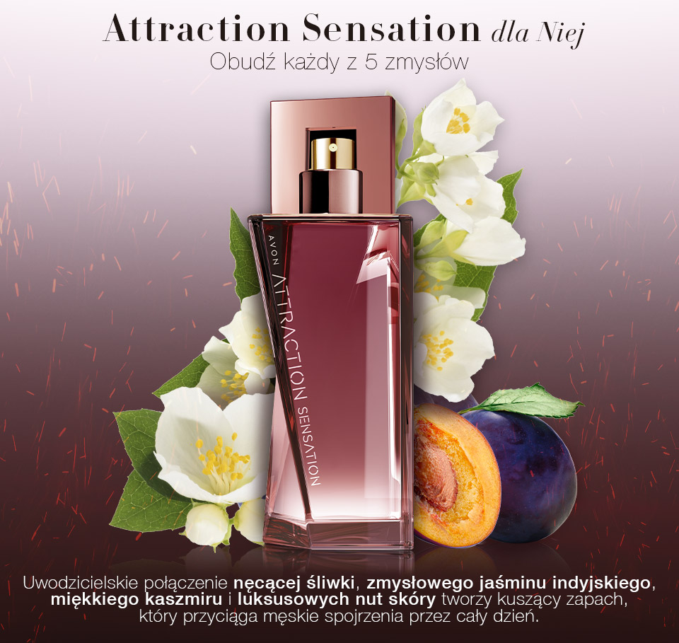 Attraction sensation for her новые каталоги avon