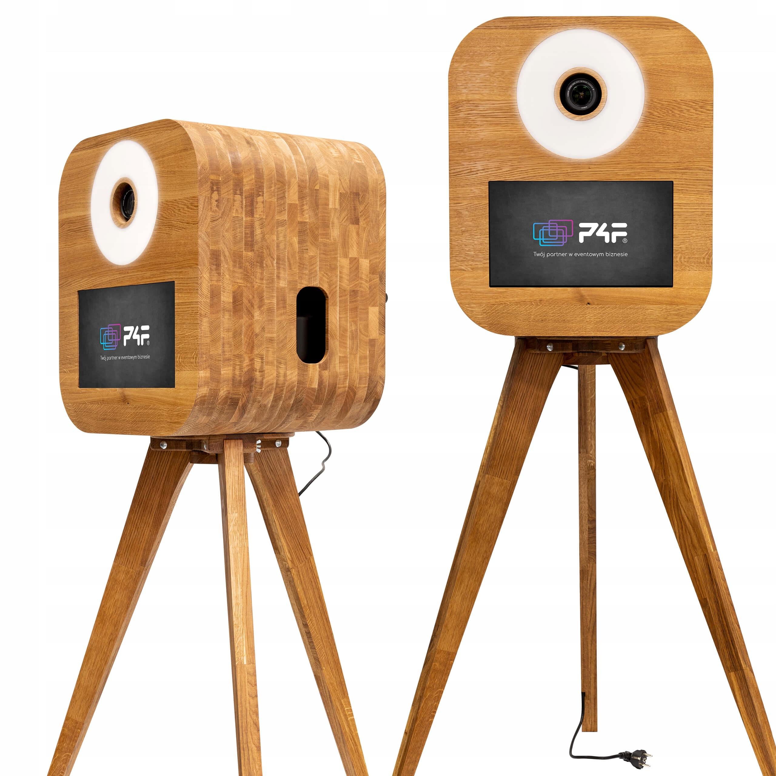 FOTO BOX P4F RETRO M retro búdka vyrobená z dreva Plus