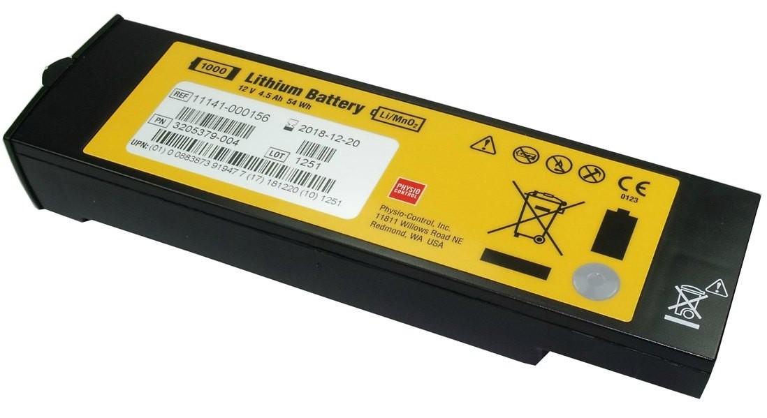 Lítiová batéria pre Defibrillator LifePak 1000