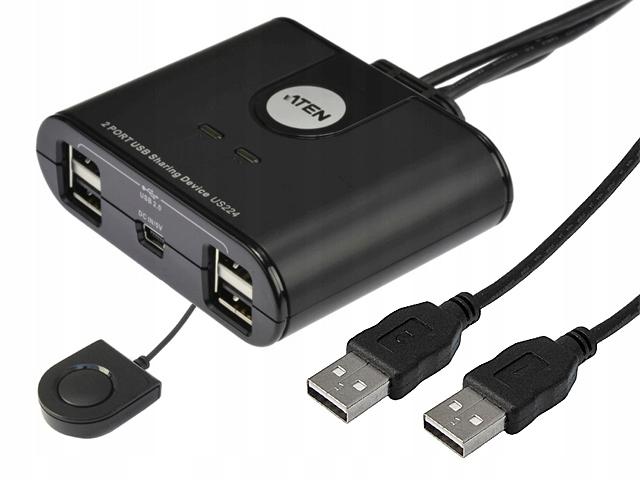 Spínač prepínača USB2.0 4XUSB-2XPC ATEN US224