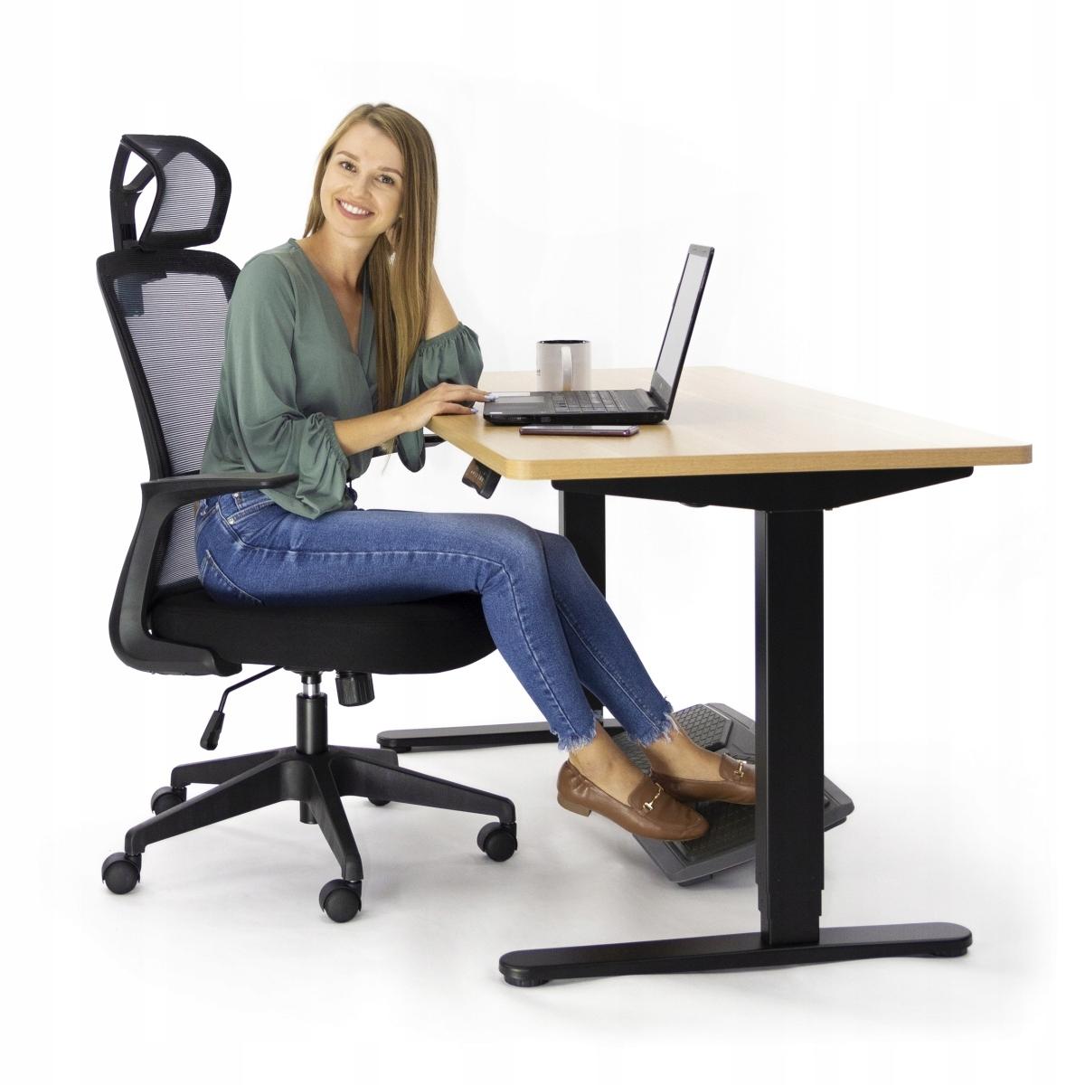 Ергономічний офісний стілець Поворотний стілець AMO-90 Висота меблів 126 см