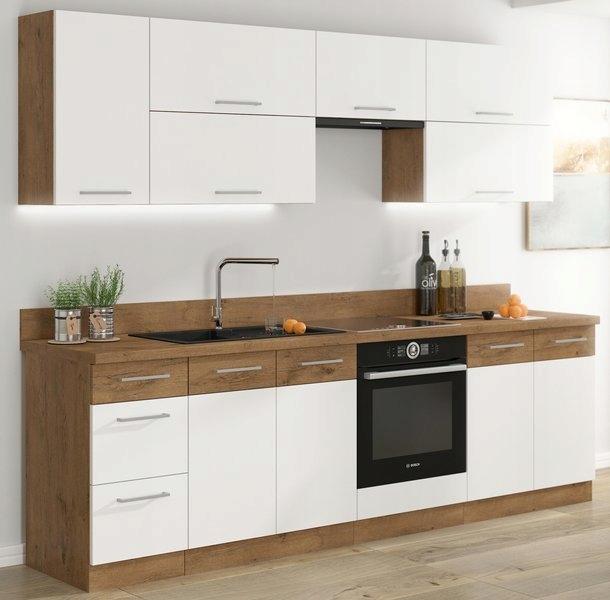комплект мебели Кухня Шкафы Кухонные VIKI блеск