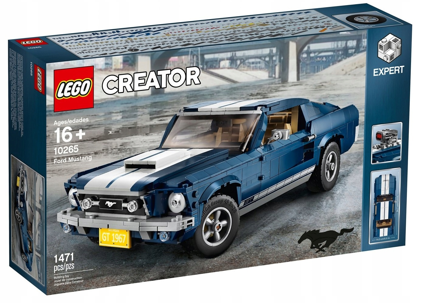 LEGO CREATOR Ford Mustang 10265