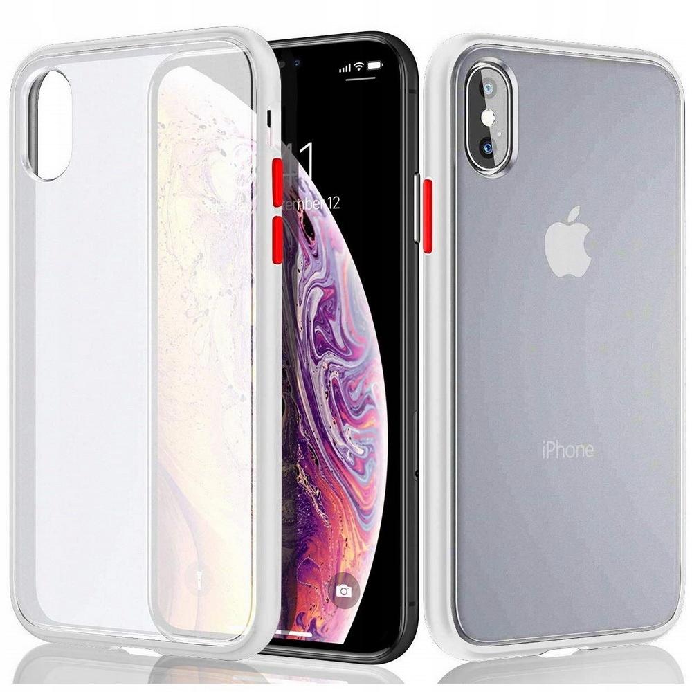 D-pro Matte Neon Case Etui Obudowa Iphone Xs Max