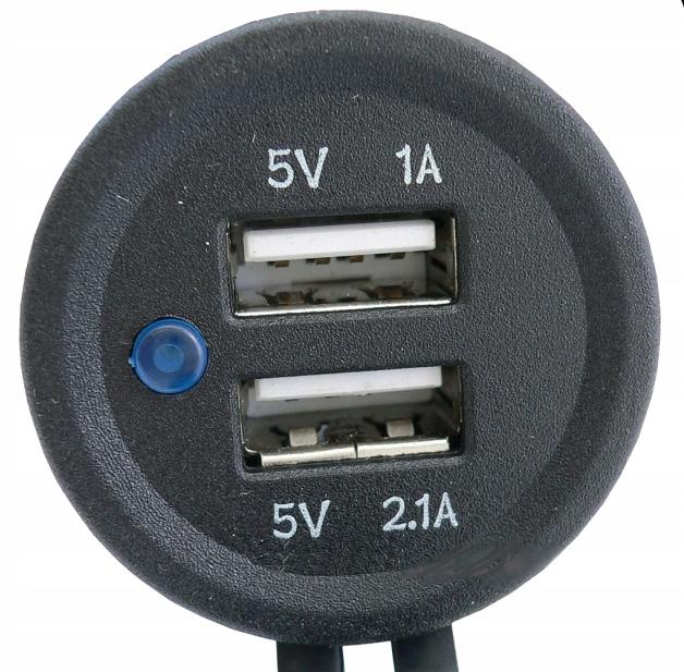 PAKROVEJAS USB 5V 3,1A LIZDAS HERMETISKI 12V 24V