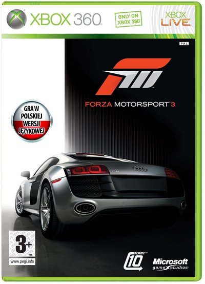 Item NEW GAME Forza Motorsport 3 the Polish version of the FILM !