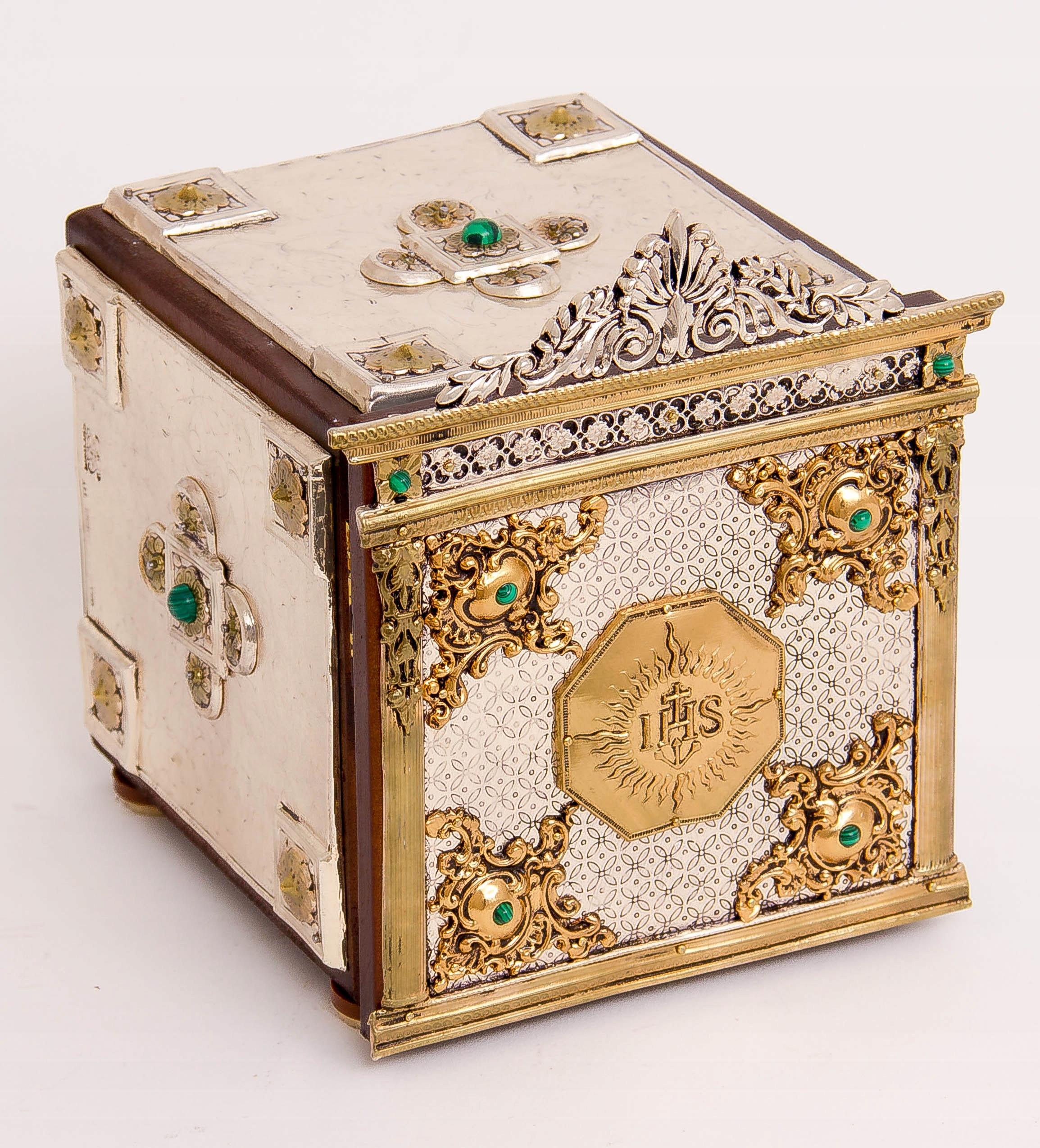 Srebrzone i złocone tabernakulum kolekcjonerskie!