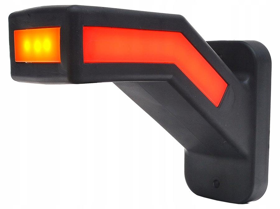 лампа габаритный obrysówka контрольная рогова leda 3-f