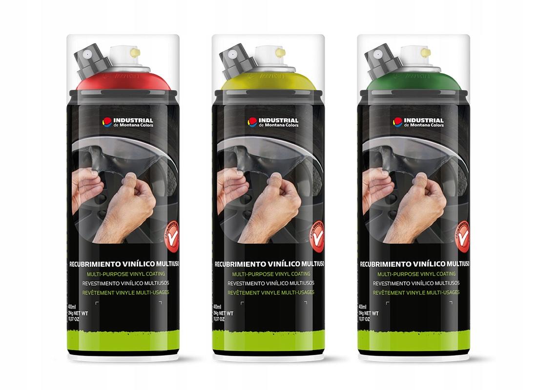 Спрей резиновый, фольга - 400мл - MTN Industrial