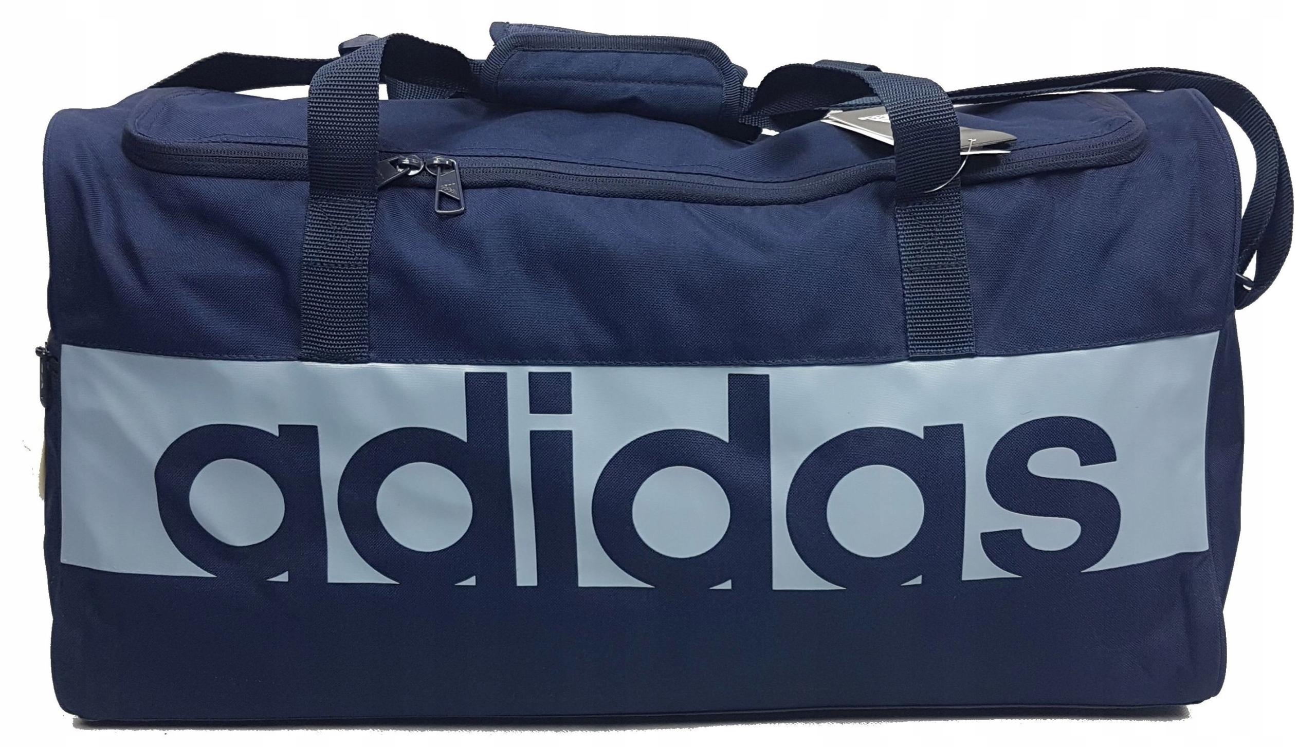 211ffd0ac16dc Adidas Torba Sportowa LINEAR PERFORMANCE S99960(M) 7828755966 - Allegro.pl