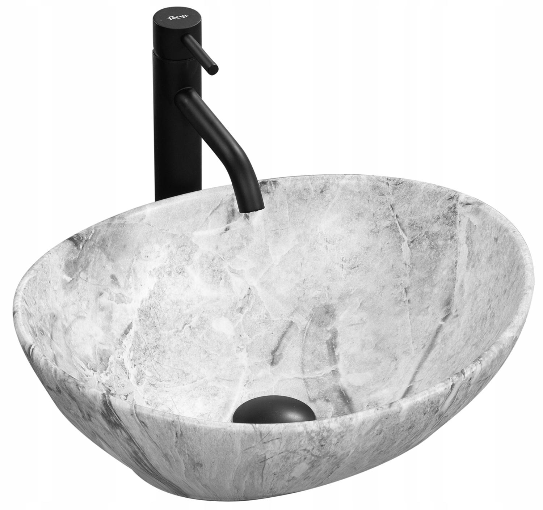 Stawiana umywalka nablatowa SOFIA STONE REA