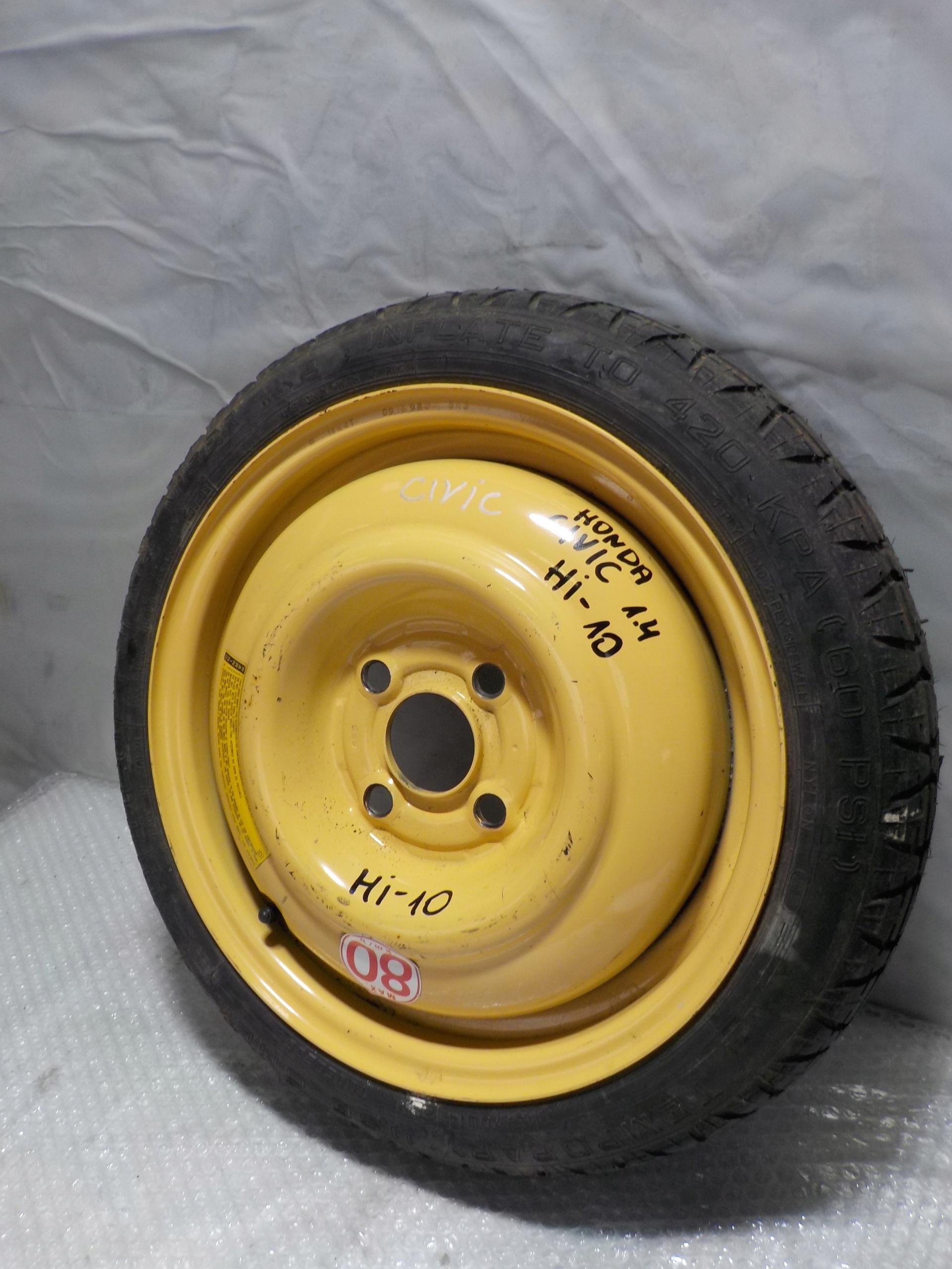 Picture of CIVIC VI SEDAN R14 SPARE WHEEL