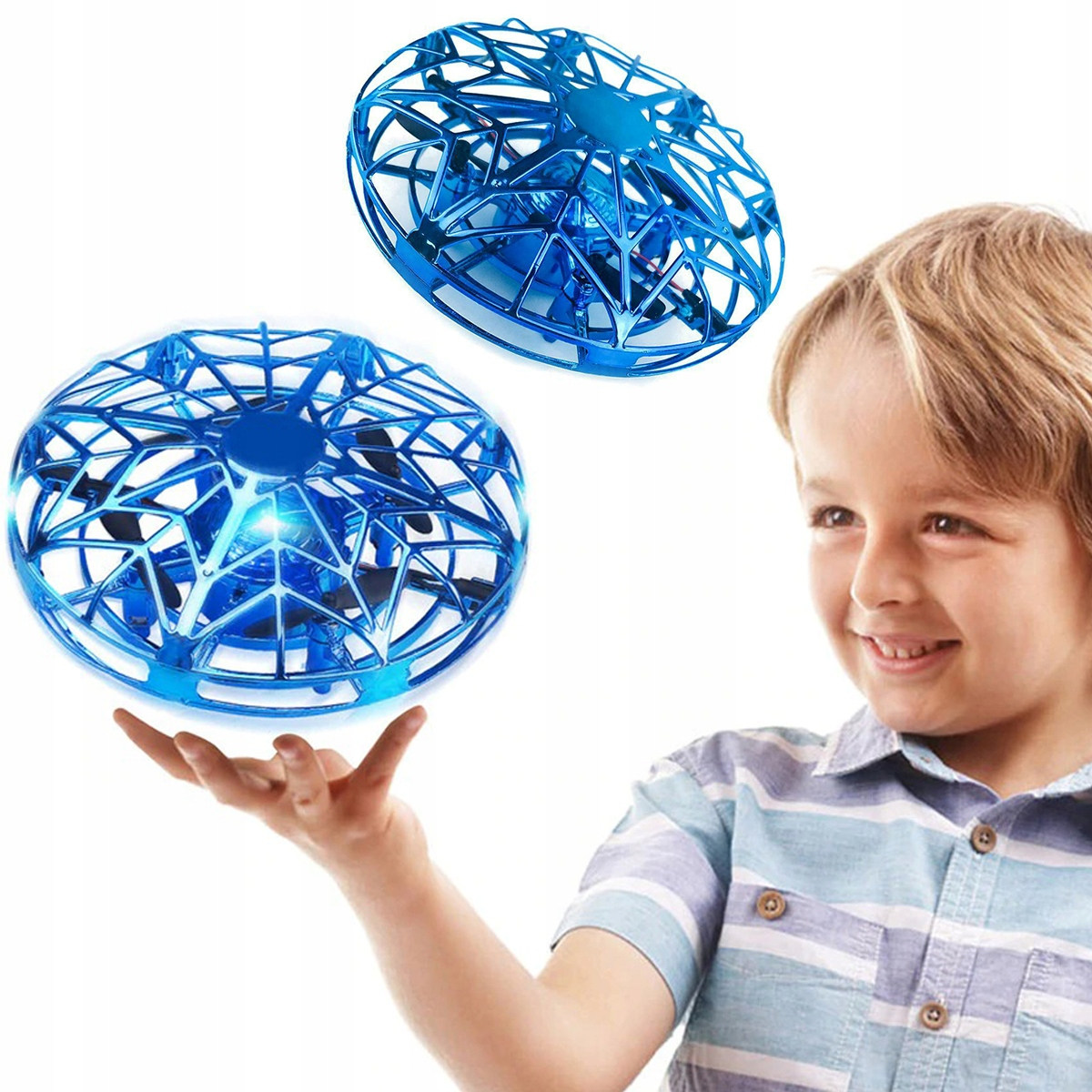 Item THE DRONE IS CONTROLLED BY HAND, 360 UFO FLYING TOY 1